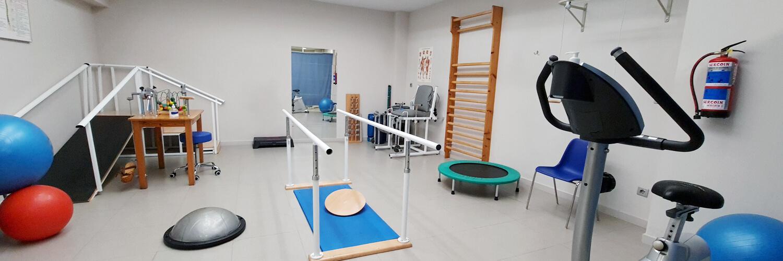 Centro de fisioterapia y rehabilitación en Uhagón Bilbao gimnasio