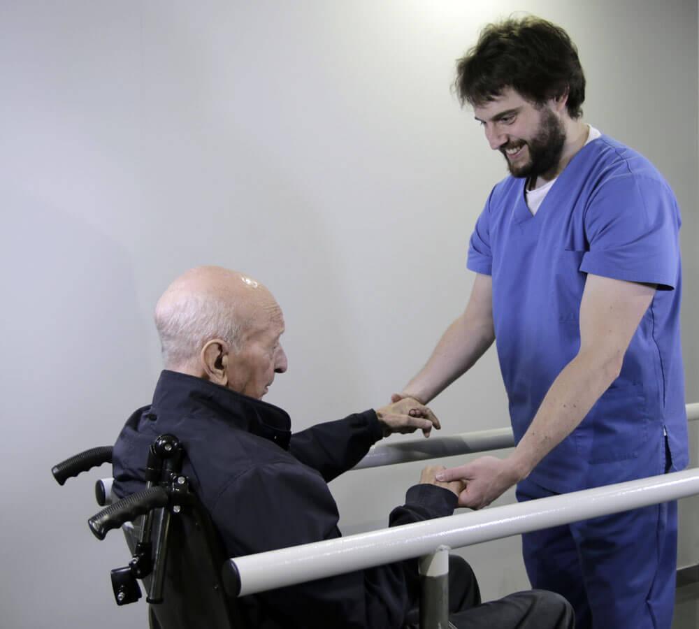 Fisioterapia y rehabilitación geriátrica
